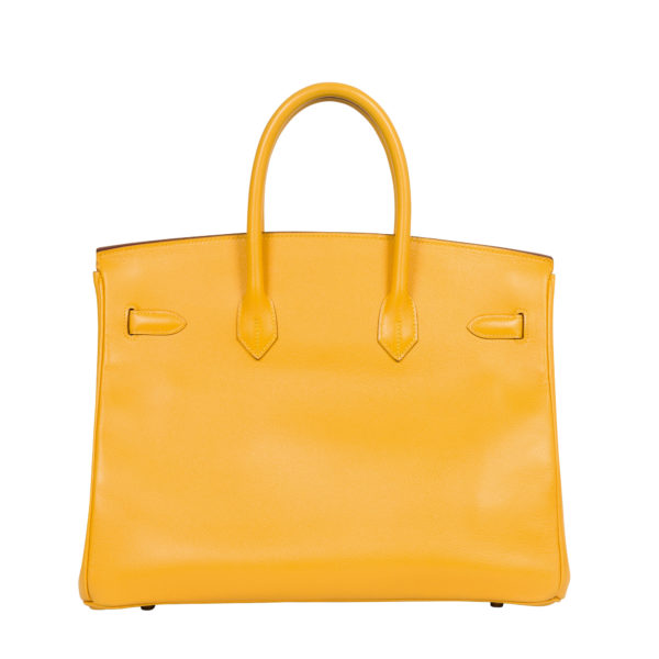 Hermes Yellow Birkin