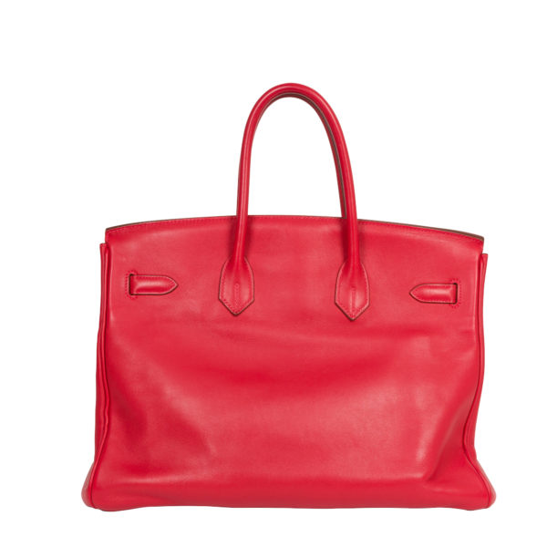 Hermes Red Birkin