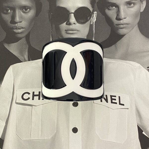 Chanel Monochrome Cuff